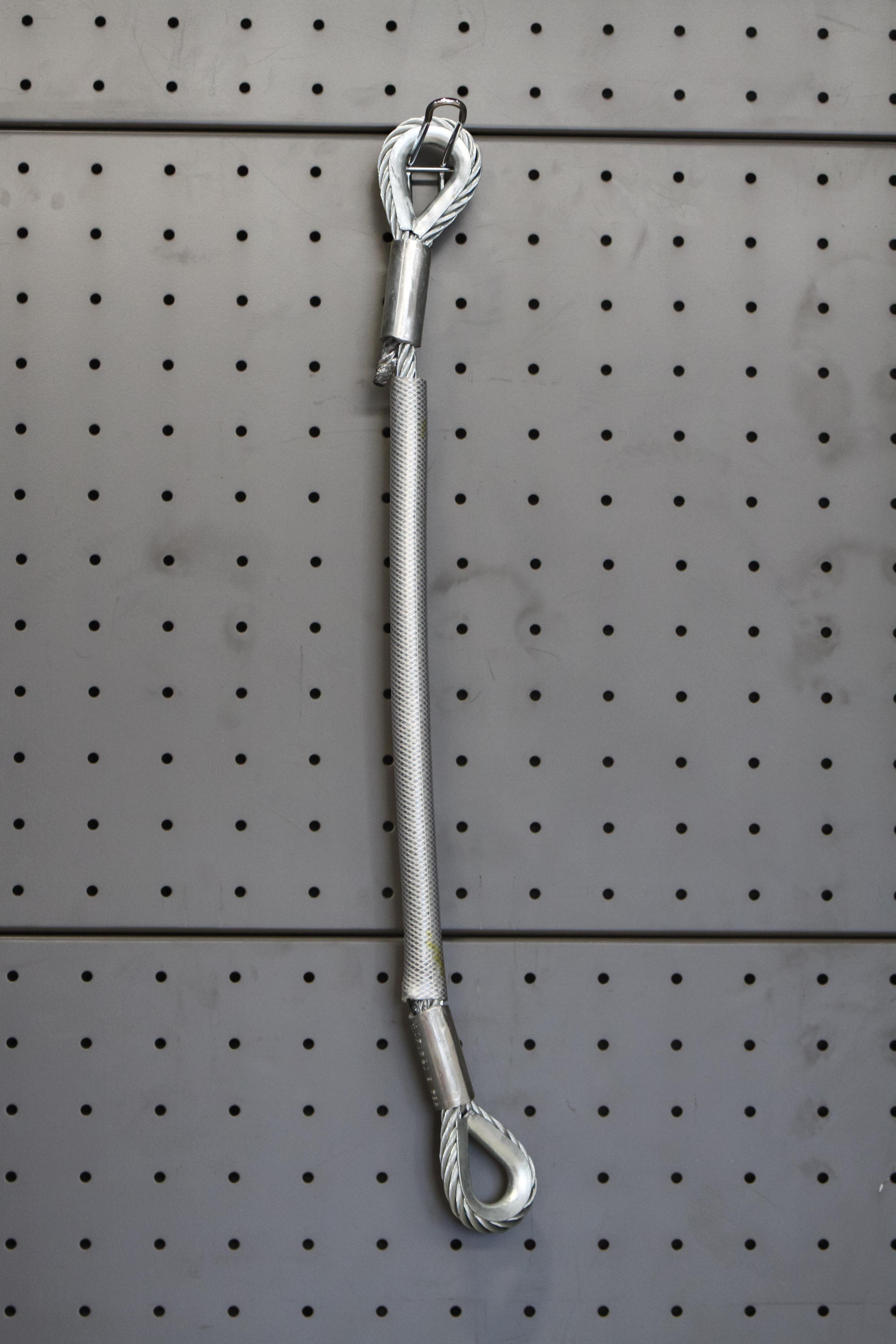 P101 PVC plastificirana enostremenska bremenska vrv